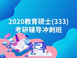 2020教育硕士(333)考研辅导冲刺班